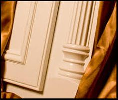 Cabinet Moulding and Half Round Moulding Cabinet Molding, Cabinet Trim, Cabinet Doors, Moulding, Kitchen Cabinets Trim, Small Farmhouse Table, Finish Carpentry, Colonial Kitchen, Butler Pantry