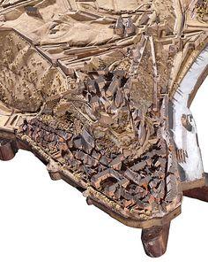 Plan-relief de #Namur (Belgique) réalisé entre 1747 et 1750. En dépôt au Palais des Beaux-Arts de Lille. Notice du plan-relief : http://www.museedesplansreliefs.culture.fr/collections/maquettes/recherche/namur-namen Photo © Musée des Plans-reliefs / RMN-GP, R.G. Ojéda