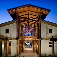 The influence of barns in architectural design - Sunset Idea House in Monterey CA by Architect Thomas Bateman Hood.