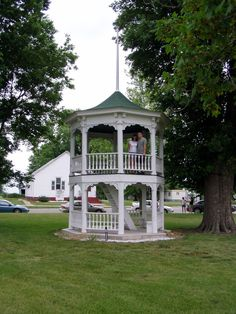 I am in love with this!  [Double-Decker gazebo]
