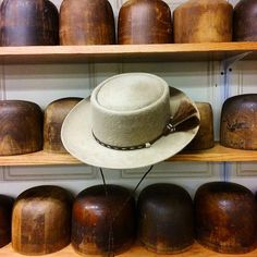 2075aa22ac487 Cowboy Champagne Porkpie from the Workshop at JJ Hat Center.