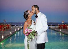 Alicia Keys and Swizz Beatz married in a seaside ceremony on the Mediterranean.