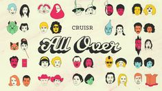 """Official music video for the song """"All Over"""" by Cruisr.   Credits:  Client: Vagrant Records Concept, Design, and Direction: Chris Carboni"""