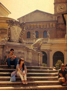 Will spend some time strolling Trastevere with our friends ... Piazza Trastevere, Rome.