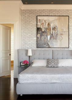 Réno - un penthouse du Vieux-Québec transformé : la chambre | Décormag