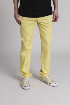 Canary yellow pants