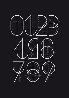 Typography / numerografia_wete_02