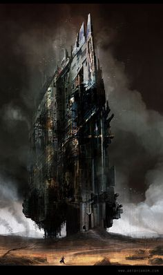 The Dark Tower, Dimitar Tzvetanov - chrom on ArtStation at http://www.artstation.com/artwork/the-dark-tower-abcebd37-9a69-4af9-a237-4ca7c1cec498