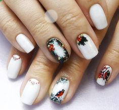 66 Best Christmas Nails 2018 Images Cute Nails Christmas Manicure
