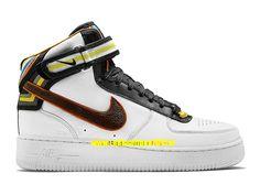 save off 2ad86 8b2e0 Nike X Riccardo Tisci Air Force 1 Low RT - Baskets Nike Sportswear Pas Cher  Pour Homme Noir/Brun baroque 677802-020