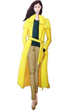 ralph lauren fashion illustration