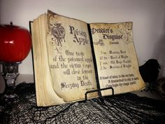 g*rated: DIY Halloween Spell Book - with printable pages