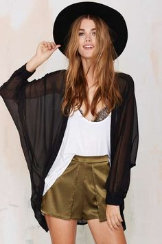 Athena Sheer Kimono | Shop Clothes at Nasty Gal!