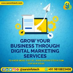 Do you want to Grow your business overnight?  Yes it is possible if you will choose right Digital Marketing Company.  Contact us for more info  on +91 9818823408.  #digitalmarketing #business #socialmediamarketing #marketingstrategy #emailmarketing #marketing #digitalagency #contentmarketing #digitalmarketer #marketingconsultant #socialmedia #marketingonline #businessideas #onlinebusiness #marketingtips #businessopportunity #ownbusiness #onlinemoney Digital Marketing Services, Email Marketing, Content Marketing, Social Media Marketing, Best Web Design, Marketing Consultant, Web Design Company, Growing Your Business, Business Opportunities