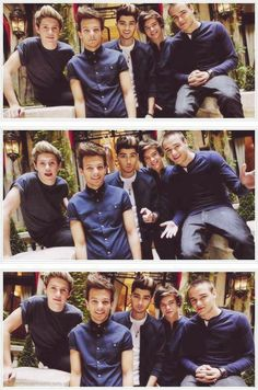 The only one that looks different in every pic is zayn lol