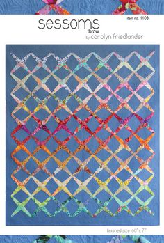 The Sessoms quilt pattern by Carolyn Friedlander (available here and other places  http://www.pinkchalkfabrics.com)