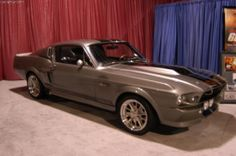 1967 Shelby Mustang GT 500 (GT500, C6ME 428)   Yes I am a woman and I love this car. It makes me weak in the knees and if I ever own it my life will be complete.