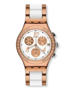 Relógio Cronógrafo - Dream White Ros