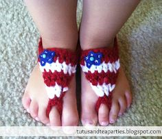 @Lion Brand | 6 Quick & Easy Patterns for the 4th of July