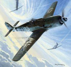 1945 Focke Wulf 190D JG I - Mark Postlethwaite