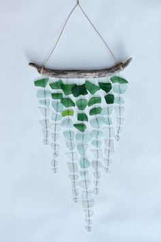 Seaglass + Driftwood Mobile DIY Display- cant wait until I collect some of my own...a lot of projects will be in store!
