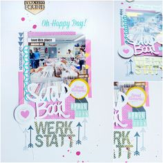 Scrapbooking Layout with FRIDA by Janna Werner - from the design team of Scrapbook Workshop