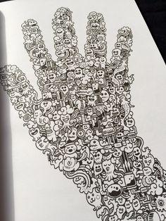 Doodle Invasion | PUZ ® - Mantém o teu cérebro ativo! (Bem-vindo ao fabuloso universo de Zifflin e Kerby Rosanes!)