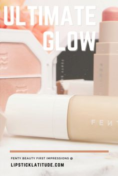 My first impressions review of Rihanna's new Fenty Beauty line