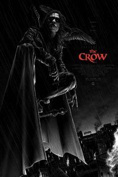 Brandon Lee, Matt Ryan, Bruce Lee, Movie Poster Art, New Poster, Film Posters, Adam Thompson, Crow Movie, Alex Pardee