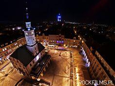 Gliwicki Rynek piękny o zmierzchu  (fot. ROCKFILMS) #gliwice Poland, Hockey, City, Cities, Field Hockey, Ice Hockey