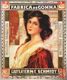 Fábrica de Gomma Cysne Guilherme Schmidt 1920-Cód.:1865 | Empório do Gordinho