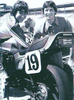 Freddie Spencer & Eddie Lawson