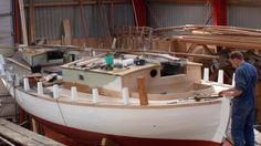 "Colin Archer "" Vaar"" Best Boats, Boat Building, Archer, Fishing Boats, Sailboat, Pilot, Sailing, Channel, Construction"