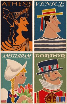 Travel Posters - portrait