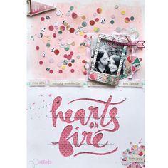 Pintitanto: LAYOUT HEARTS ON FIRE