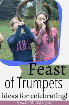 Feast of Trumpets is the first of the Fall feasts, and celebrates the anticipated coming of the King of kings! This posts includes ideas for crafts, activities, and more. Leviticus 23, Yom Teruah, Activities For Kids, Crafts For Kids, Bible Verses For Kids, Scripture Reading, Trumpets, King Of Kings, Trumpet