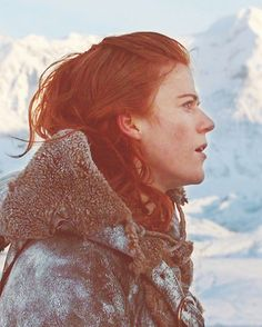 Ygritte. The most darling female character on Game of Thrones.