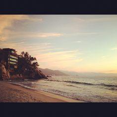 A dreamy view of the beach at #DreamsResorts Puerto Vallarta!