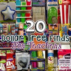 20 dollar tree finds for teachers