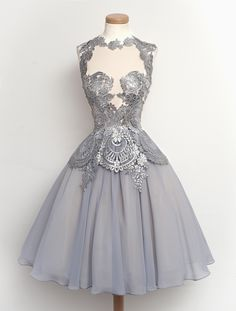 Cheap dress like model men, Buy Quality dress choice directly from China dress up baby dolls Suppliers: Retro Lace Appliques Evening Formal Party Dresses High Quality 2016 Prom Gowns High Collar Evening Dress Vestidos De Festa Dresses Short, Simple Dresses, Formal Dresses, Dresses 2016, Dresses Dresses, Elegant Dresses, Pretty Outfits, Pretty Dresses, Beautiful Outfits