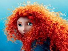 RED-HEADS ROCK!  #brave #disney #pixar #redhead #beautiful film, disney movies, little girls, ginger, red hair, disney princesses, curl, rock, redhead