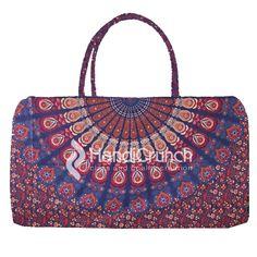 Mandala blue & orange  travel bag Online Bags, Blue Orange, Travel Bag, Handicraft, Mandala, Shoulder Bag, Handbags, Pink, Stuff To Buy