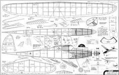 Balsa wood model airplane plans Out of the stormy sea of ARF models you can build something that stands out It doesn't require any special tools just