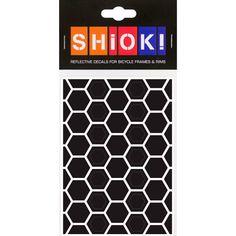 #shiok! #becomevisible! #retro-reflective #cycling #outdoor #sticker #bike I 9.95 EUR (incl. VAT) Dusk Till Dawn, Honeycomb, Cycling, Bike, Stickers, Retro, Outdoor, Bicycle, Outdoors