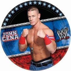 Printable Wwe Cupcake Toppers Birthday Party Diy John Cena