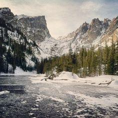 Hiking in RMNP- Emerald Lake