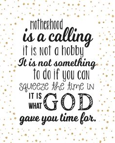 Motherhood Quote-Gold Confetti-blog size