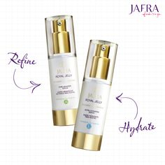 Pick a routine that best suits your skin type! Or get both in our Royal Jelly Ritual #JAFRA #JAFRAcosmetics