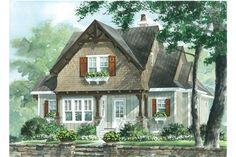 18 Small House Plans: Wind River, Plan #1551