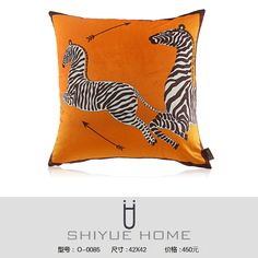 中式抱枕 新中式样板房抱枕靠垫现代简约黑白条纹几何格子抱枕套样板房沙发靠枕QQ:2853529906